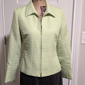 Petite Sophisticated Pale Green Jacket